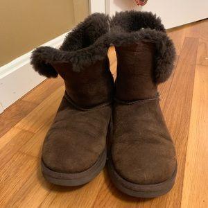 UGG Australia chocolate brown Bailey button boots!
